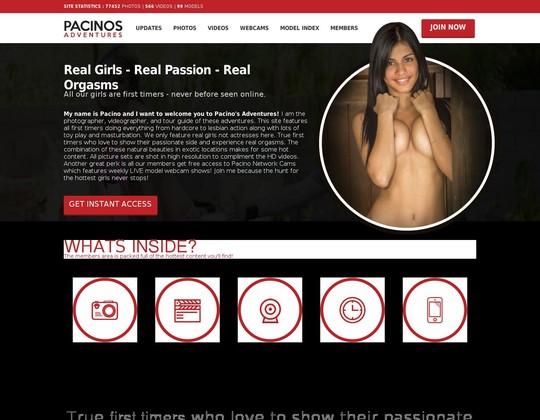 pacinosadventures.com