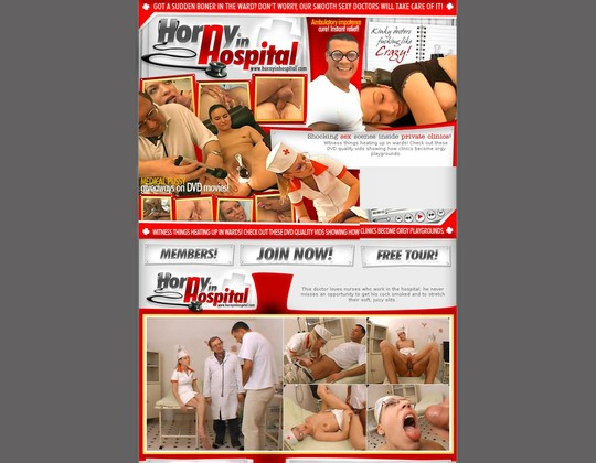 Hornyinhospital