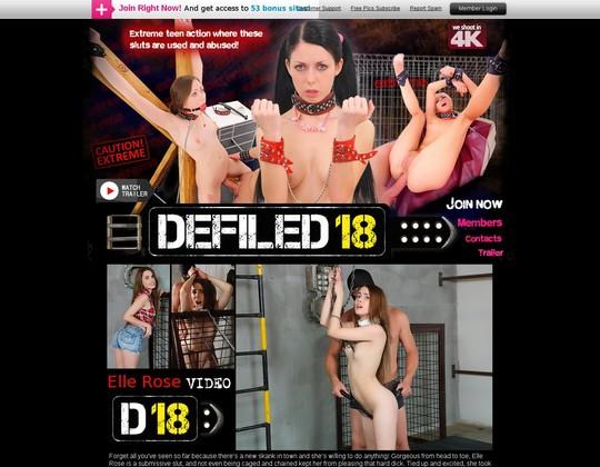 defiled18.com