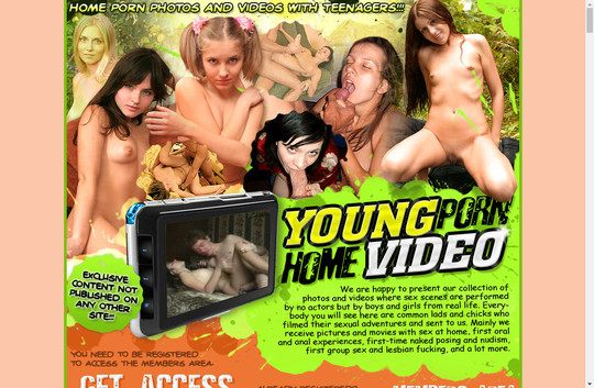Young Porn Home Video