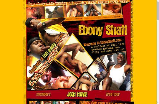 Ebony Shaft