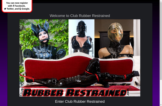 Club Rubber Restrained