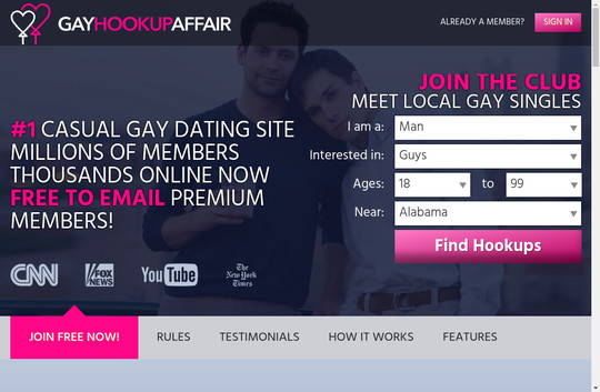 Gay Hookup Affair