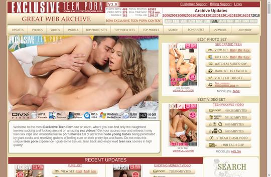 Exclusive Teen Porn