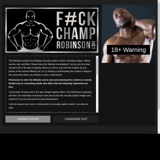 fuck champ robinson